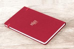 Carnet de notes classique rouge révolution - Le Papier fait de la Résistance
