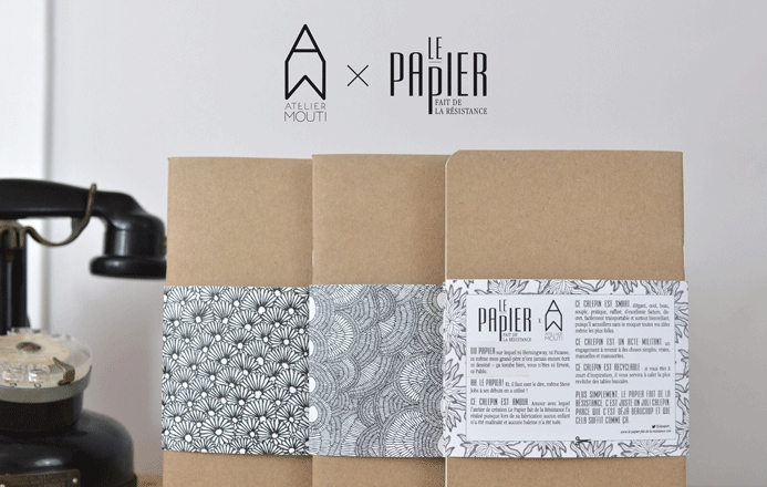 Nouvelle collection de Calepins KRAFT A5 - Atelier Mouti x Le Papier