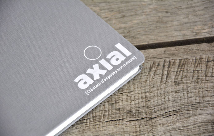 axial carnets personnalises