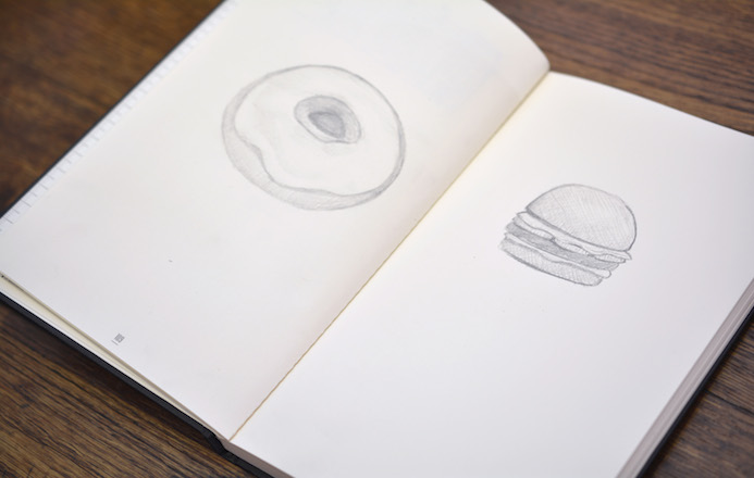 cahier illustrations