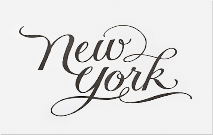 handlettering new york