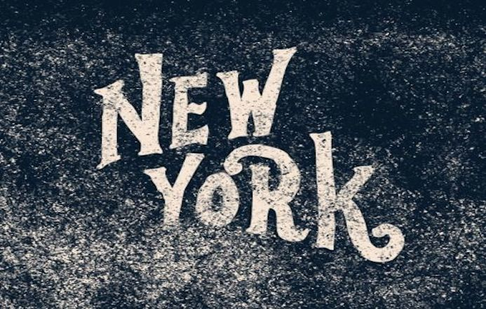 typographie new york