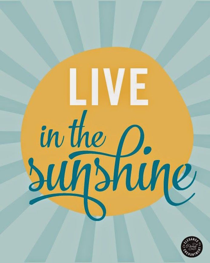 sunshine typography
