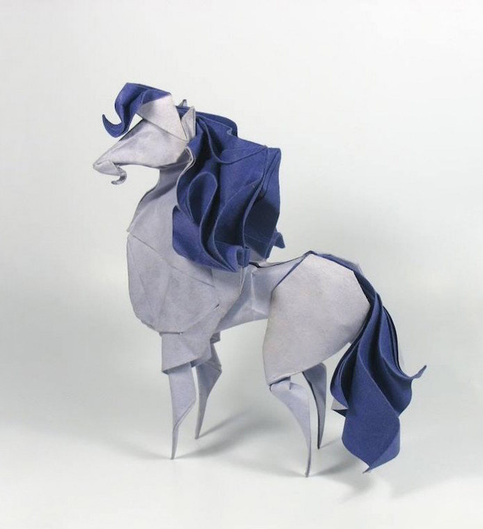 Origami Le le papier fait de la résistance le papier aime les plus beaux