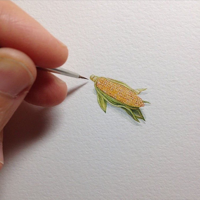 miniature illustration