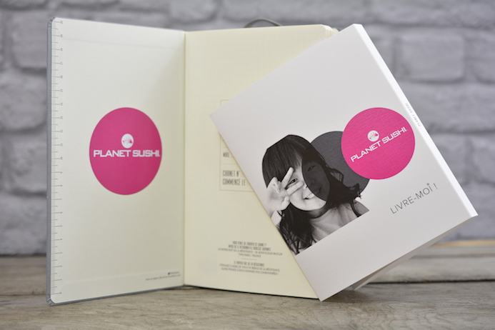 planet sushi carnets personnalises