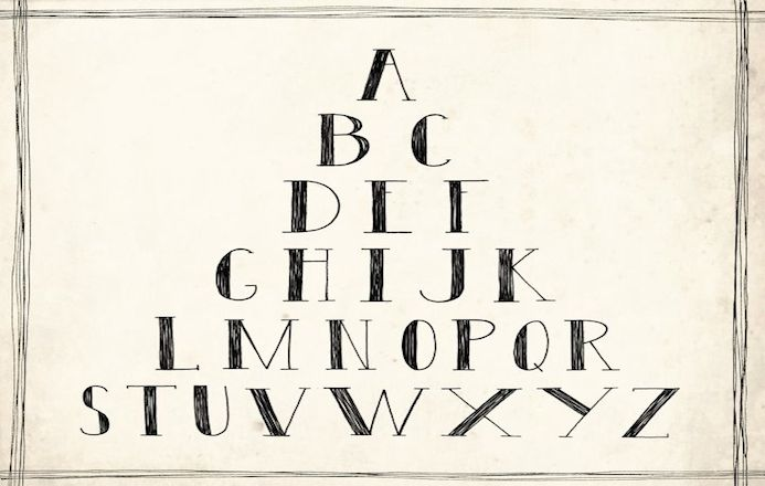 abedecaire typographie