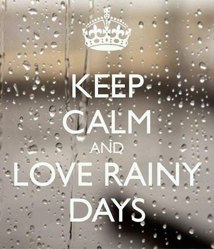 rainy days typo