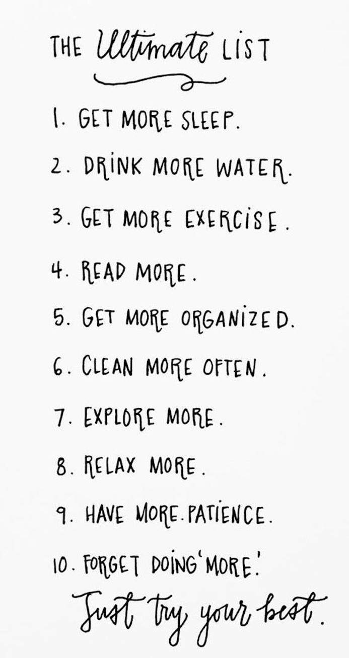 2015 resolutions to do