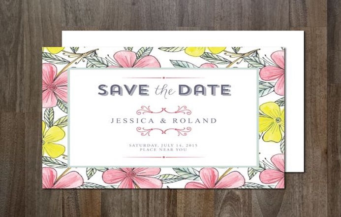 Carnet de typographie #60: Save The Date