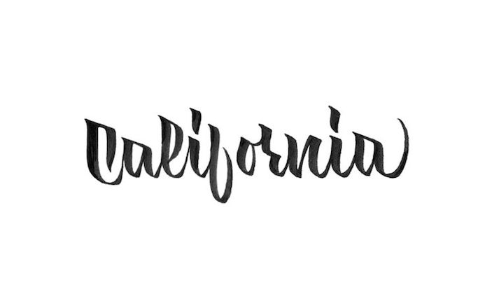 Carnet de typographie #25 : California Dreams